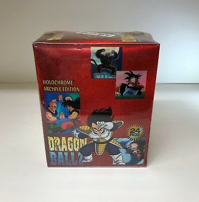 Dragon Ball Z Holochrome Archive - Sealed Trading Card Hobby Box - ArtBox 2000