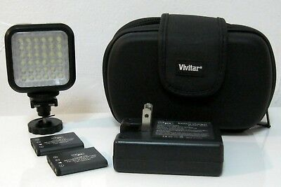 Vidpro Photo Video Led Light Kit With Diffusers Case 13995