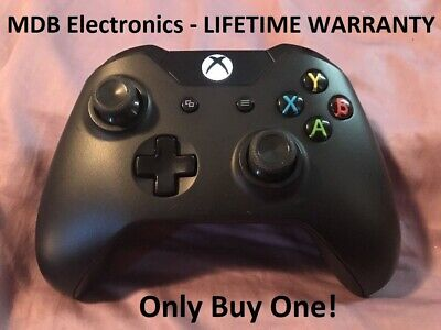 Official Microsoft Xbox One/S/X Wireless Controller BLACK - 3.5 mm Jack