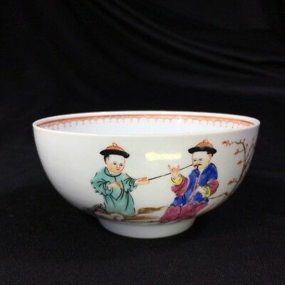 Worcester bowl, Chinese Family decoration, c. 1760