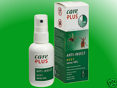 (9,98€/100ml) Care Plus Anti-Insect Deet Spray 50% - 200ml  Insektenschutz