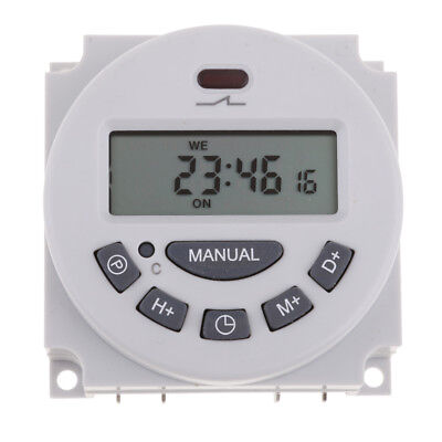 Quality 220VAC LCD Digital Weekly Programmable Power Timer Time Relay Switch