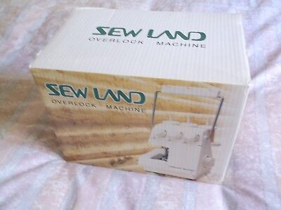 Sewland Overlock Machine, 2 speed control, foot control, with full instructions