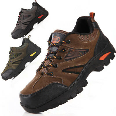 Men's Outdoor Sports Shoes Waterproof Athletic Climbing Hiking Breathable Boots