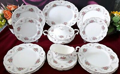 Royal Albert Tranquility Dinner set  Bone China Plate 1st Quality