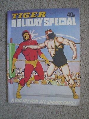 Tiger Summer Special Comic From 1979 - Johhny Cougar, Skid Solo, Billys Boots
