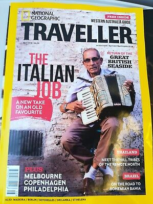 National Geographic Traveller magazine - May 2018