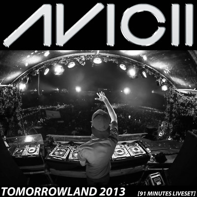 Avicii - Live @ Tomorrowland 2013 (Belgium) – 27-07-2013 - AUDIO CD [91 Minutes]