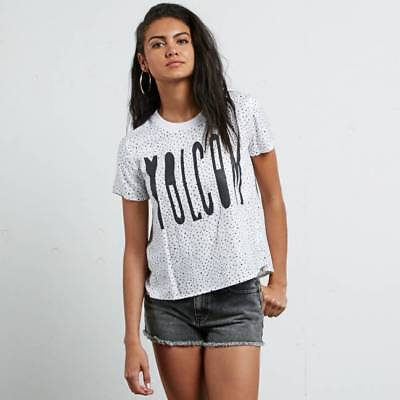 T-shirt Volcom Mix a Lot femme star white