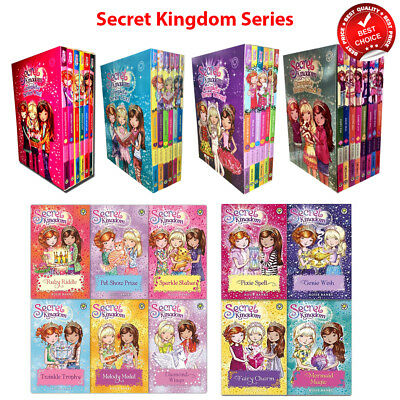 Secret Kingdom series 1 2 3 4 5 6 Collection Rosie Banks Books Set Pack NEW