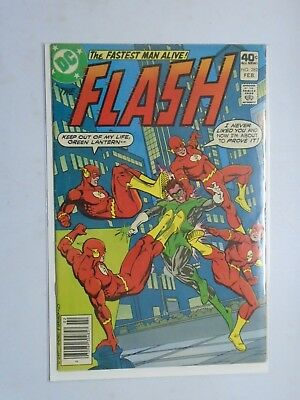 Flash (1st Series DC) #282, Water Stain On Rear 4.0 (1980)