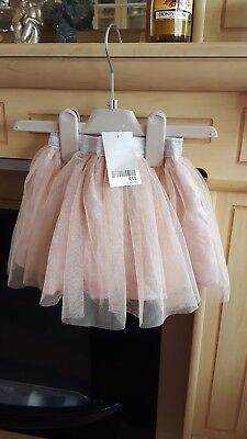 Baby Girl NEXT Pink Tutu layerd Skirt - Age 6-9 Months new with £12 tags