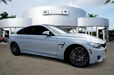 BMW M4  2017 Coupe New Twin Turbo Premium Unleaded I-6 3.0 L/182 7-Speed Automatic RWD