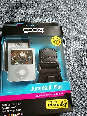 iPod Nano 3G 3rd Gen Sports Armband Case Cover Skin Twin Pack BRAND NEW