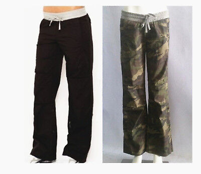 "Free Postage New""LORNA JANE""Active Flashdance Pants Camo Black Yoga Full Length"