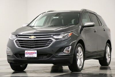 Chevrolet Equinox MSRP$38970 AWD Premier Sunroof GPS Leather Gray New Heated Cooled Seats Navigation Camera Bluetooth Remote Start 17 2017 18