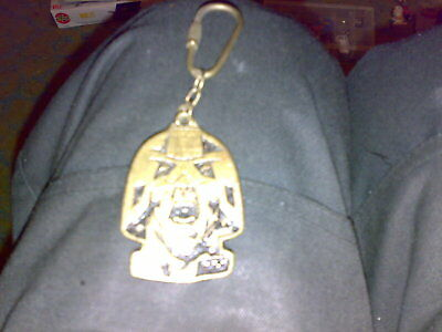 Judge Dread Metal Keyring 2000Ad