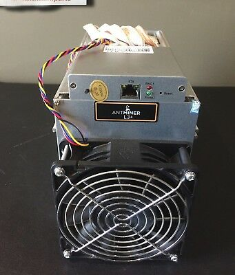 New Antminer L3+ 504Mh/s Scrypt LTC Miner - IN-HAND w/ 1 x $350 Bitmain coupon