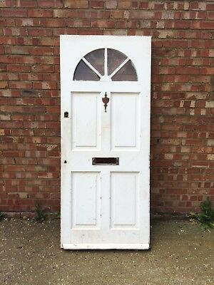 Victorian Front Door Solid Hard Wood 83cm x 196cm
