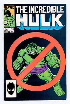 Marvel Comics: Incredible Hulk #317 & #318 - Both Issues!