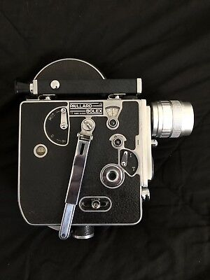 Paillard Bolex H16 16mm Movie Camera 35mm 1.7