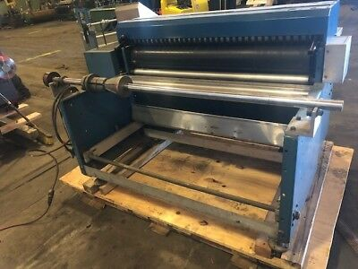 """48"""" Rosenthal Sheeter Model Was-4-Ubztva Good Working Condition"""