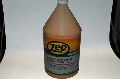 Zep Professional 1 gal. Orange Hand Cleaner with Abrasives, R05124 NEW