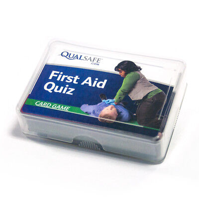 First Aid Quiz Cards Qualsafe Training Education
