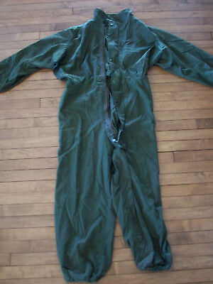 Medium US Military Mechanics COVERALLS Cold Weather UTILITY Work