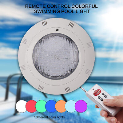 216 LED 12V 18W RGB IP68 Swimming Pool Spa Lamp Underwater With Remote Control