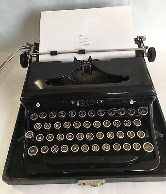 Royal Model O Touch Control Typewriter