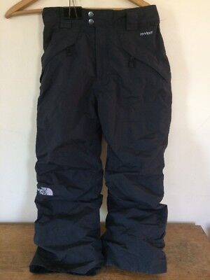 The North Face Hyvent Youth Boys Black Ski Snow Board Winter Pants Large 10 12
