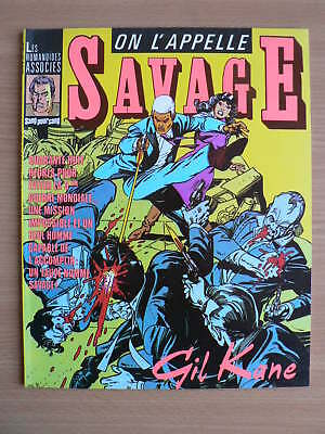 On L'appelle Savage-Gil Kane-Humanoides Associes-Bd-1983