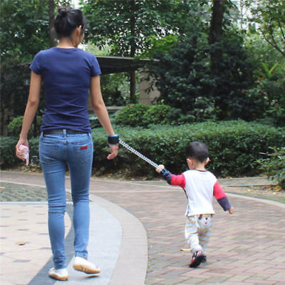 Toddler Kids Safe Walking Harness Anti-lost Strap Wrist Leash Hand Belt Band DIY