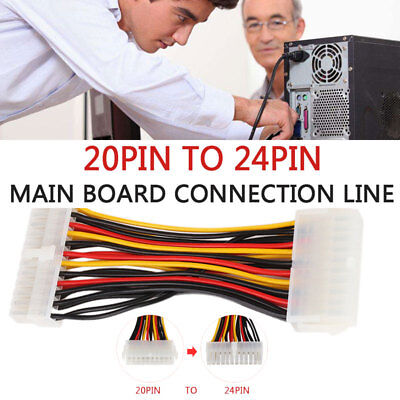 Convenient Universal 20 To 24pin Plastic for HP Mini Motherboard Computer