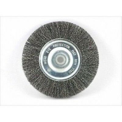 6 Amp Inch Round Wirewheel Brass Wire Brush Wheel For Bench