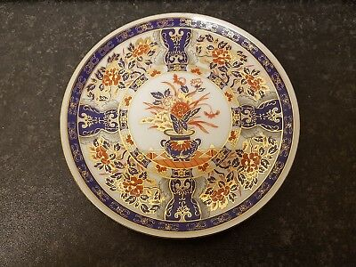 Vintage Imari Pattern Plate Marked Eiwa Respectfull Made In Japanese Appx 16Cm