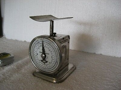 Antique Pelouze Postal Scale, Copyright 1897