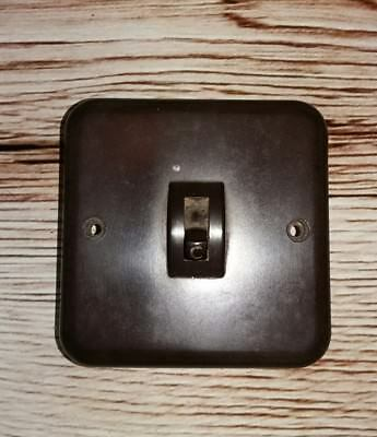 Vintage Crabtree Bakelite Light Switch