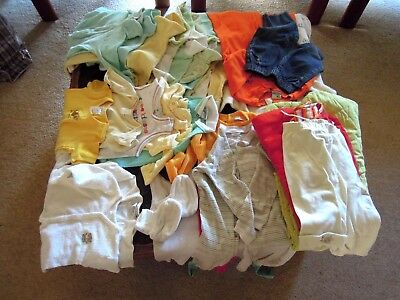 UNISEX BABY / TODDLER ITEMS  -  31 Pieces  -  MOST NEAR NEW  - Size Newborn to 2