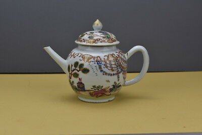 Rare Chinese Export 18Th Century Large Teapot