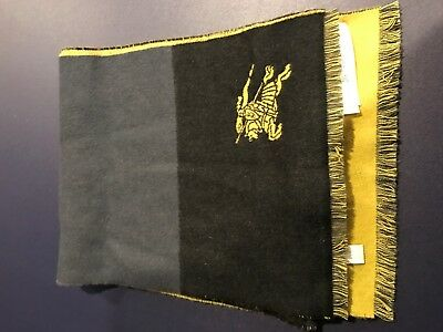 Burberry Children Dark Merino Wool Boys scarf