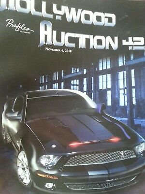 Hollywood Auction Catalog. Knight Rider, Back to the Future II props, Iron Man