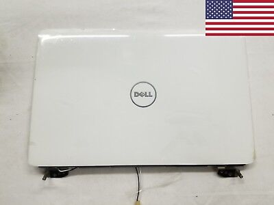 NEW Genuine Dell Inspiron 1545 1546 Lcd Back Cover Lid /& Hinges J331R
