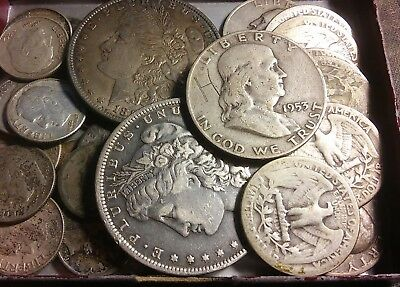 $6.55 Face Value Lot Of Old US Minted MIXED 90% Silver Coins! No Junk! ((392))