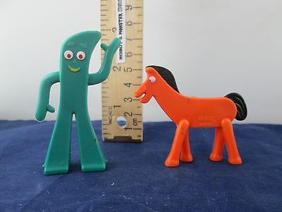 Super-Flex ~ Gumbitty - Gumby & Pokey Jesco Prema Vintage Hong Kong 2.75""