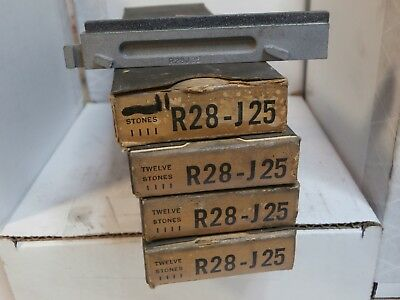 SUNNEN hone stones R28 J25 R28J25 set of 47 NEW honing machining finishing NOS
