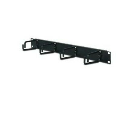 NEW APC AR8425A 1U HORIZONTAL CABLE ORGANIZER BLACK....b.