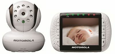 Motorola MBP36 Remote Wireless Video Baby Monitor withColor LCD Screen 3.5 Inch