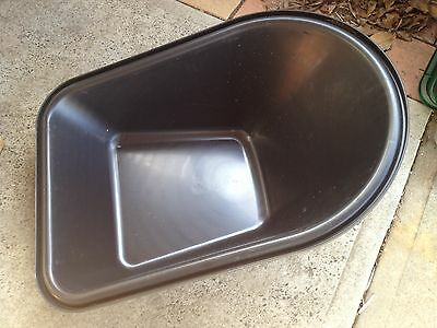 wheelbarrow heavy duty poly tub replacement rust free NEW